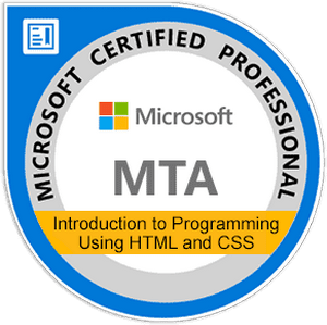 MTA: Introduction to Programming Using HTML and CSS
